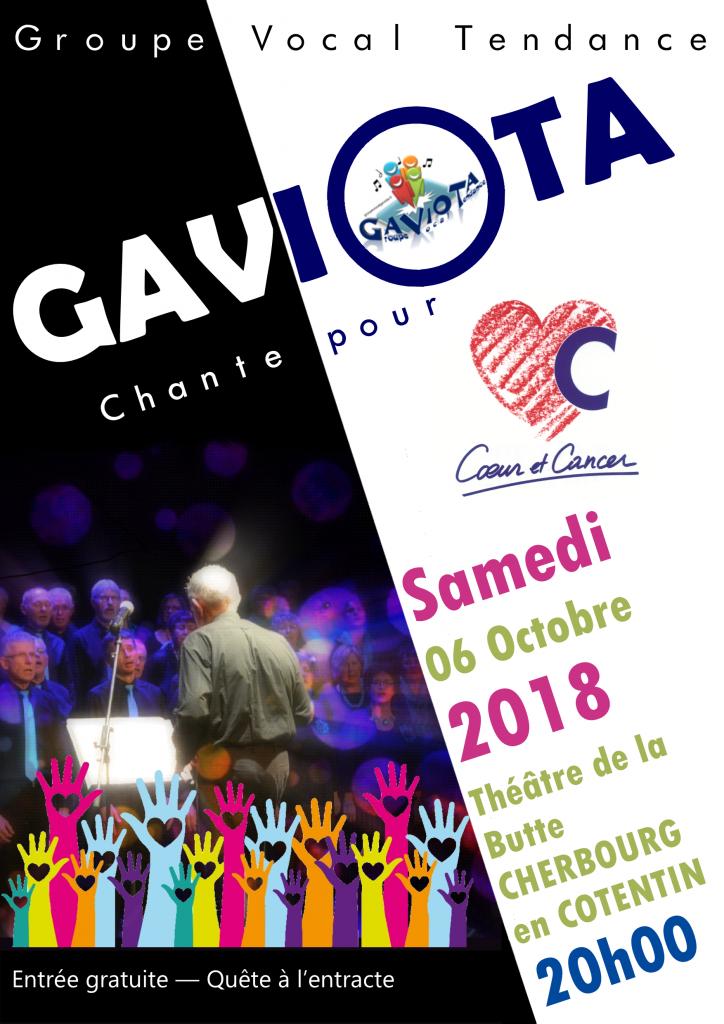 """Affiche du concert en faveur de """"Coeur et concert""""."""